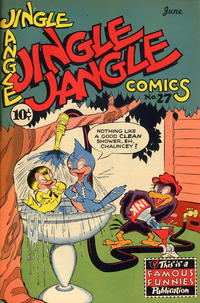 Cover Thumbnail for Jingle Jangle Comics (Eastern Color, 1942 series) #27