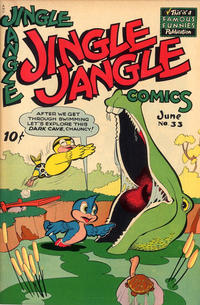 Cover Thumbnail for Jingle Jangle Comics (Eastern Color, 1942 series) #33
