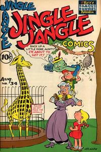 Cover Thumbnail for Jingle Jangle Comics (Eastern Color, 1942 series) #34