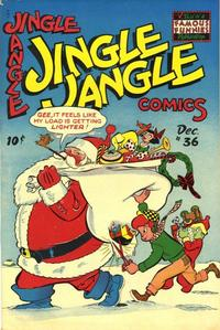 Cover Thumbnail for Jingle Jangle Comics (Eastern Color, 1942 series) #36