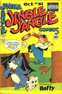 Cover for Jingle Jangle Comics (Eastern Color, 1942 series) #41