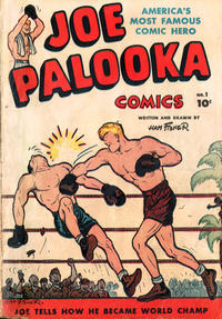 Cover Thumbnail for Joe Palooka Comics (Harvey, 1945 series) #1