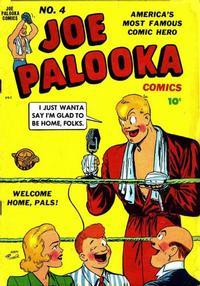 Cover Thumbnail for Joe Palooka Comics (Harvey, 1945 series) #4
