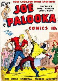 Cover Thumbnail for Joe Palooka Comics (Harvey, 1945 series) #5