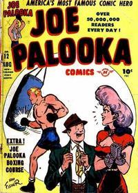Cover Thumbnail for Joe Palooka Comics (Harvey, 1945 series) #12
