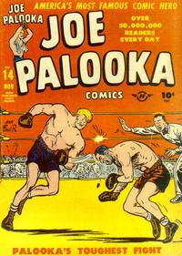 Cover Thumbnail for Joe Palooka Comics (Harvey, 1945 series) #14
