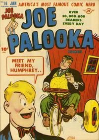 Cover Thumbnail for Joe Palooka Comics (Harvey, 1945 series) #16