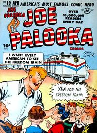 Cover Thumbnail for Joe Palooka Comics (Harvey, 1945 series) #19
