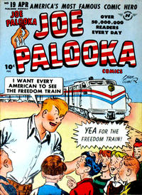 Cover Thumbnail for Joe Palooka Comics (Harvey, 1945 series) #19