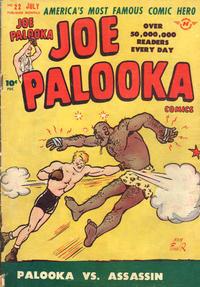 Cover Thumbnail for Joe Palooka Comics (Harvey, 1945 series) #22