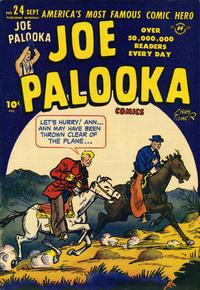 Cover Thumbnail for Joe Palooka Comics (Harvey, 1945 series) #24