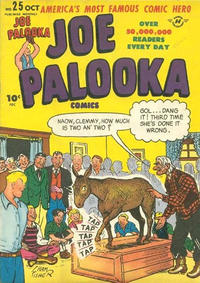 Cover Thumbnail for Joe Palooka Comics (Harvey, 1945 series) #25