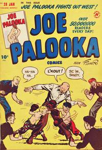 Cover Thumbnail for Joe Palooka Comics (Harvey, 1945 series) #28