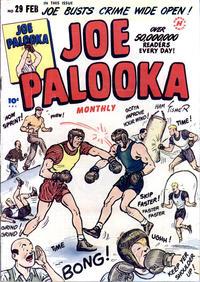 Cover Thumbnail for Joe Palooka Comics (Harvey, 1945 series) #29