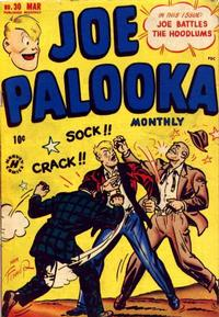 Cover Thumbnail for Joe Palooka Comics (Harvey, 1945 series) #30