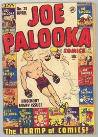 Cover Thumbnail for Joe Palooka Comics (Harvey, 1945 series) #31