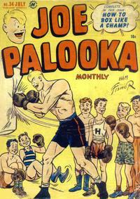 Cover Thumbnail for Joe Palooka Comics (Harvey, 1945 series) #34