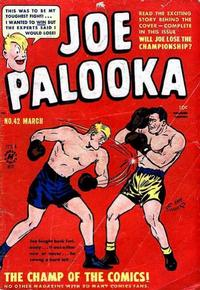 Cover Thumbnail for Joe Palooka Comics (Harvey, 1945 series) #42