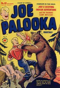 Cover Thumbnail for Joe Palooka Comics (Harvey, 1945 series) #48