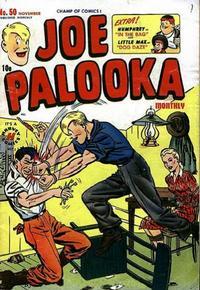 Cover Thumbnail for Joe Palooka Comics (Harvey, 1945 series) #50