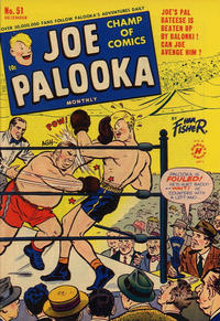 Cover Thumbnail for Joe Palooka Comics (Harvey, 1945 series) #51