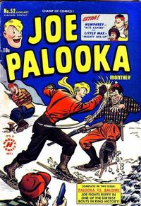 Cover Thumbnail for Joe Palooka Comics (Harvey, 1945 series) #52