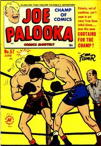 Cover Thumbnail for Joe Palooka Comics (Harvey, 1945 series) #57