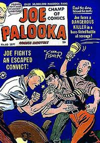 Cover Thumbnail for Joe Palooka Comics (Harvey, 1945 series) #60
