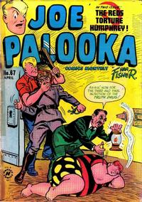 Cover Thumbnail for Joe Palooka Comics (Harvey, 1945 series) #67