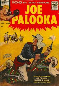 Cover Thumbnail for Joe Palooka Comics (Harvey, 1945 series) #100