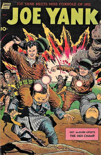 Cover Thumbnail for Joe Yank (Pines, 1952 series) #8