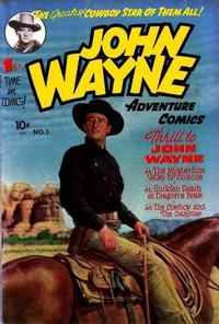 Cover Thumbnail for John Wayne Adventure Comics (Toby, 1949 series) #1