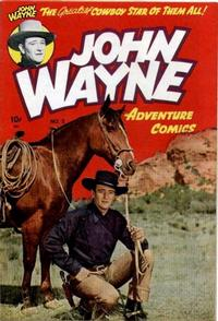 Cover Thumbnail for John Wayne Adventure Comics (Toby, 1949 series) #2