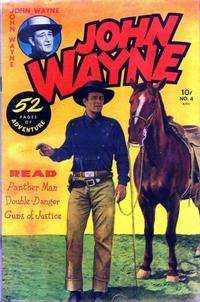 Cover Thumbnail for John Wayne Adventure Comics (Toby, 1949 series) #4
