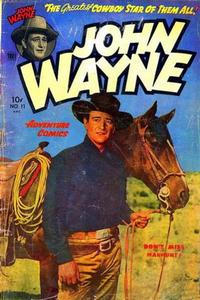 Cover Thumbnail for John Wayne Adventure Comics (Toby, 1949 series) #11
