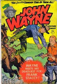 Cover Thumbnail for John Wayne Adventure Comics (Toby, 1949 series) #13