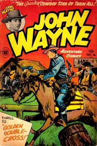Cover Thumbnail for John Wayne Adventure Comics (Toby, 1949 series) #16