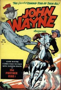 Cover Thumbnail for John Wayne Adventure Comics (Toby, 1949 series) #18