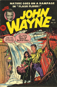 Cover Thumbnail for John Wayne Adventure Comics (Toby, 1949 series) #22