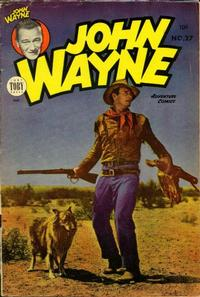 Cover Thumbnail for John Wayne Adventure Comics (Toby, 1949 series) #27