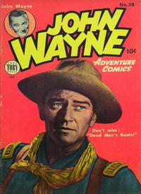 Cover Thumbnail for John Wayne Adventure Comics (Toby, 1949 series) #28
