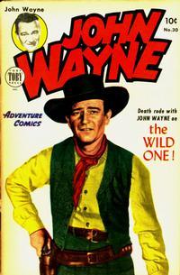 Cover Thumbnail for John Wayne Adventure Comics (Toby, 1949 series) #30