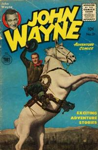 Cover Thumbnail for John Wayne Adventure Comics (Toby, 1949 series) #31