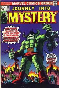 Cover Thumbnail for Journey into Mystery (Marvel, 1972 series) #10