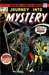 Cover Thumbnail for Journey into Mystery (Marvel, 1972 series) #16