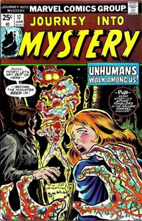 Cover Thumbnail for Journey into Mystery (Marvel, 1972 series) #17