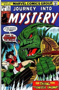 Cover Thumbnail for Journey into Mystery (Marvel, 1972 series) #18