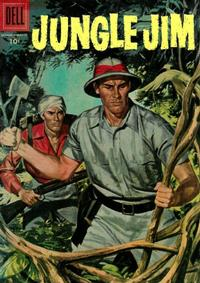 Cover Thumbnail for Jungle Jim (Dell, 1954 series) #7