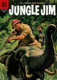 Cover Thumbnail for Jungle Jim (Dell, 1954 series) #15