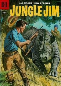 Cover Thumbnail for Jungle Jim (Dell, 1954 series) #16